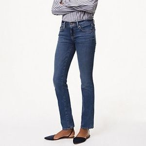 LOFT Modern Straight Leg Jeans Size 25 0 NWT
